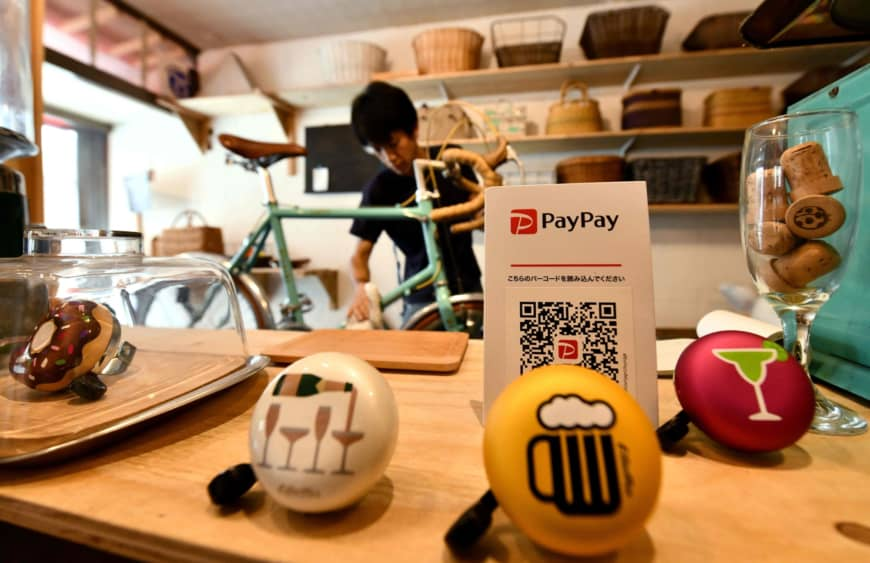 In high-tech Japan, cash remains king