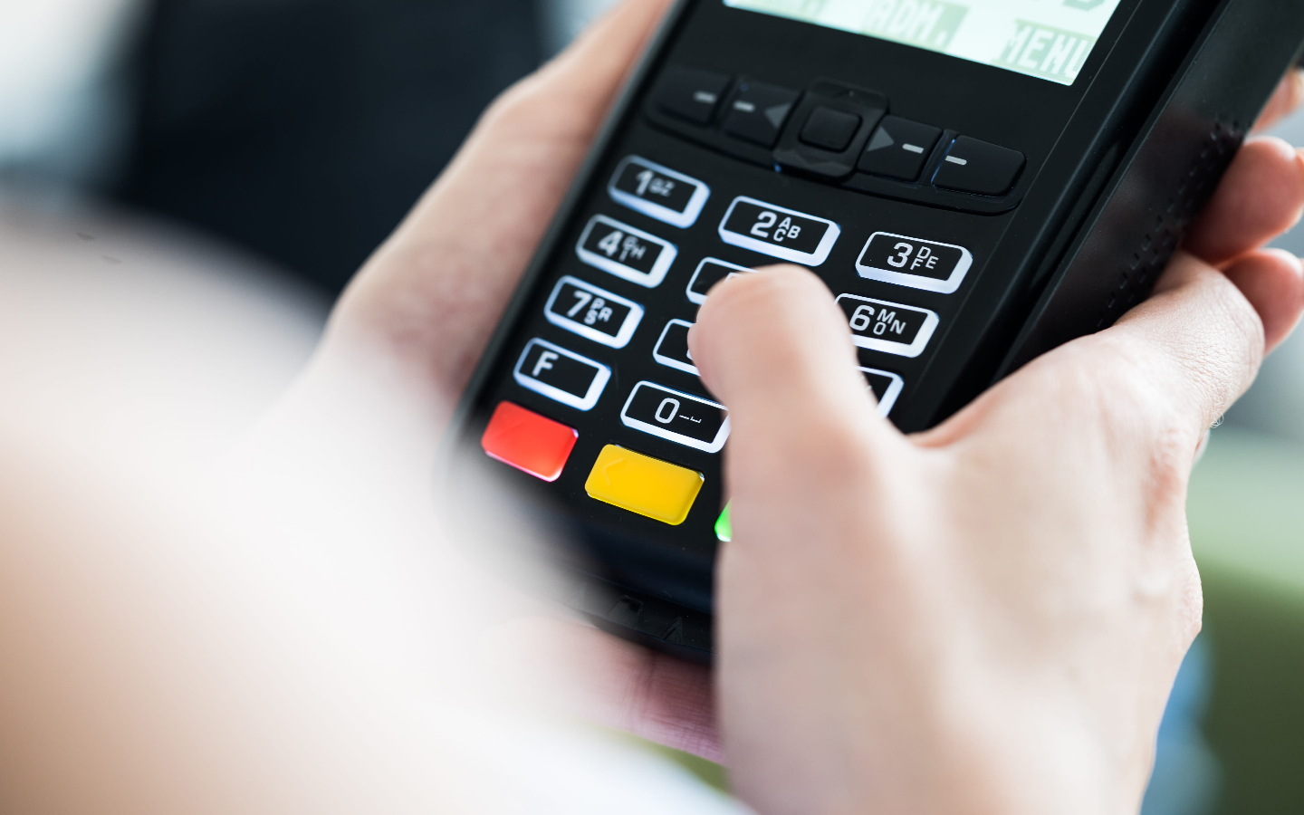 COVID-19: credit card terminals are not that safe