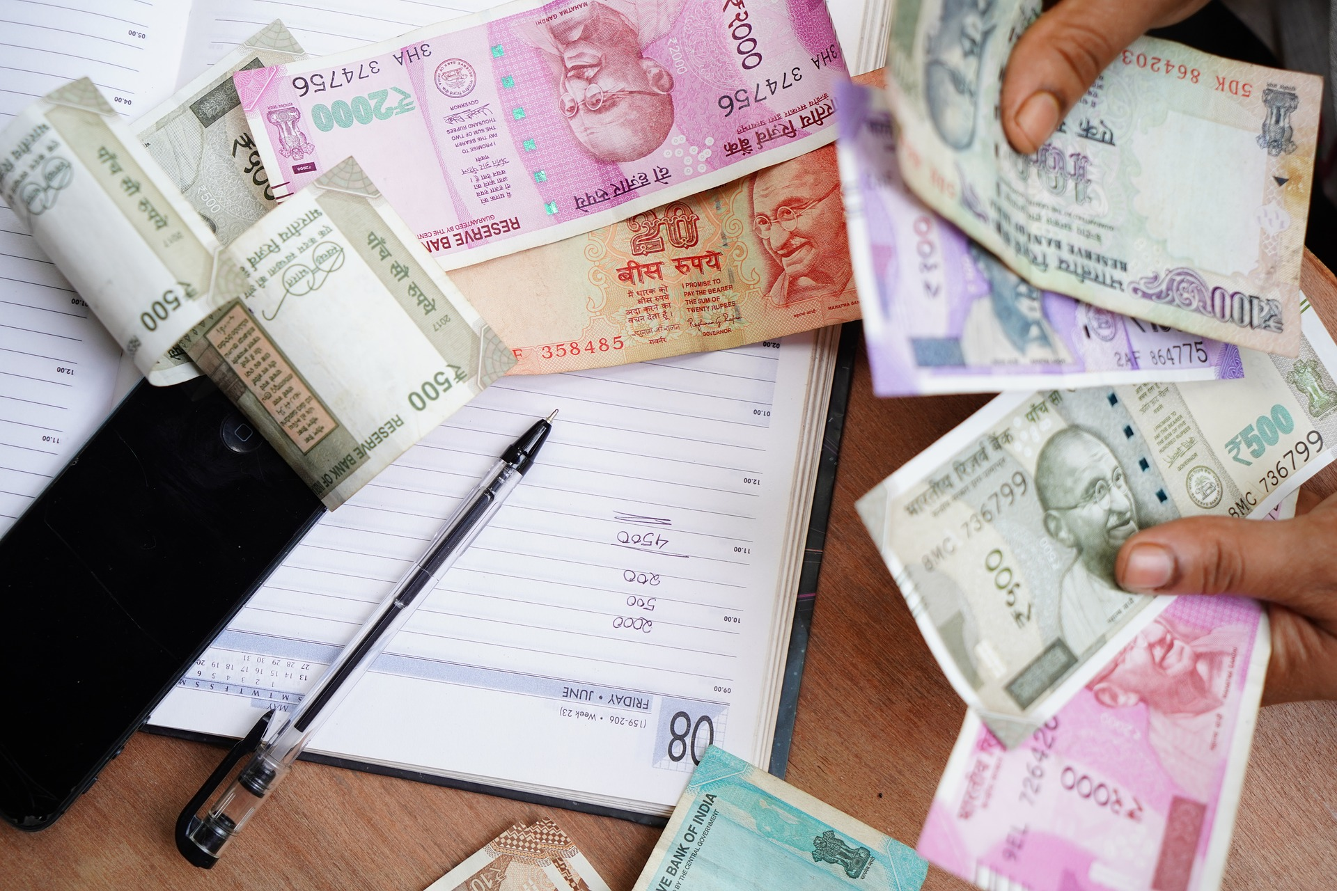 War on Cash in India but Cash is still King