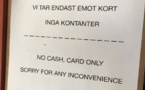 Sweden: citizen rebelling against a cashless economy